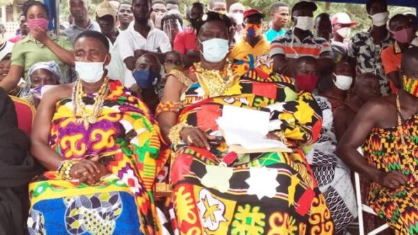 Two Paramount Chiefs Endorses President Akufo Addo Re-election in Central Region