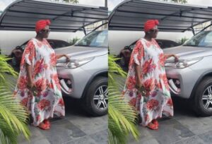 """Just In: Video Of """"papa No"""" Dashing Out A Brand New Car To Tracey Boakye Pops Up Online And Goes Viral -watch"""