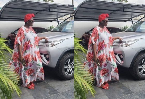 "Just In: Video Of ""papa No"" Dashing Out A Brand New Car To Tracey Boakye Pops Up Online And Goes Viral -watch"