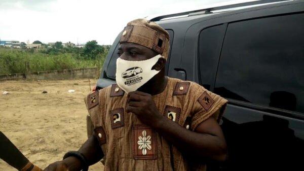 Watch Video: Nana Kofi Nyamekye I Gifts Brand New 4*4 Car To Collegue Fetish Priest.