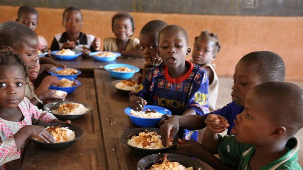 Pupils In Sissala East Elated With Free Hot Meal