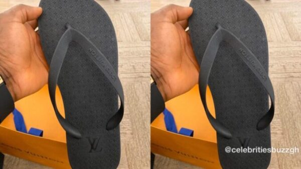 "UNBELIEVABLE: Check This Viral Flip flop a.k.a ""Chale Wote"" That Costs Ghc4,167 -PHOTOS"