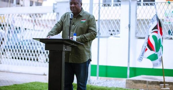 Don't Expect Me To Accept Results Of A Flawed Election, I Won't – Mahama Reiterates To EC