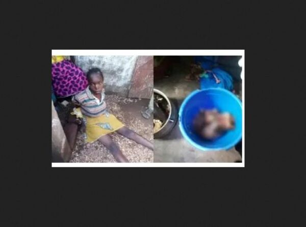 Mother Arrested For Killing Her 6 Month Old Baby, Diced The Body Into Tiny Pieces And Poured The Body Parts Into A Cooking Pot