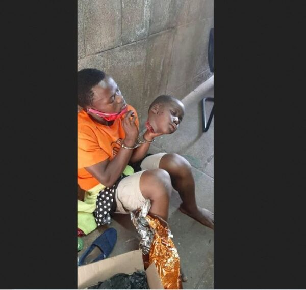 Young Man Arrested With Fresh Head Of A Child At Uganda Parliament
