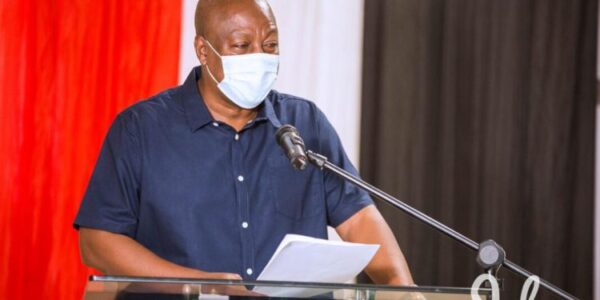 John Dramani Mahama Embarks on a 4-Day Campaign Tour of the Central Region