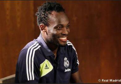 Former Ghana midfielder Essien Joins Coaching Team Of FC Nordsjaelland