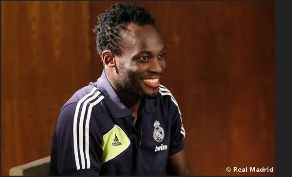 Former Ghana midfielder Essien Joins Coaching Team Of FC Nordsjaelland