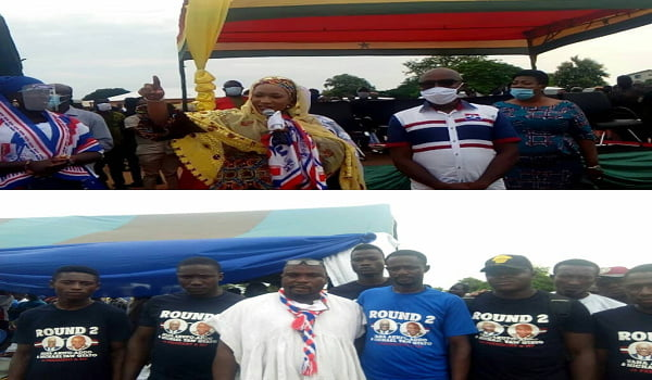 JUST IN: Some 600 NDC Members Including Youth Activists Defect To NPP -[SEE PHOTO]