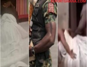 Video of Cheating Man Gets Stuck On Soldier's Wife During S3X Goes Viral - WATCH VIDEO