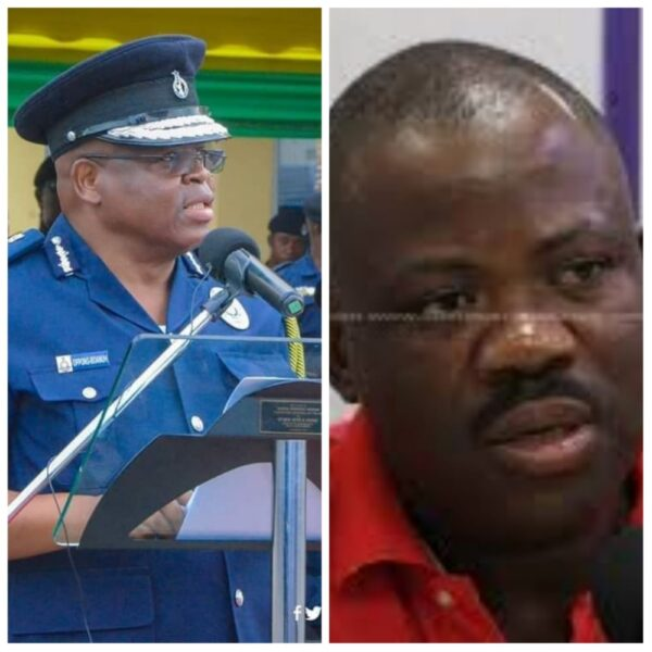 NDC'S Joshua Hamid Schooled IGP Mr. James Oppong On Police Responsibilities