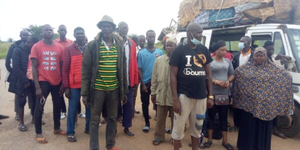 GIS Intercepts 26 Nigeriens At Wenchi