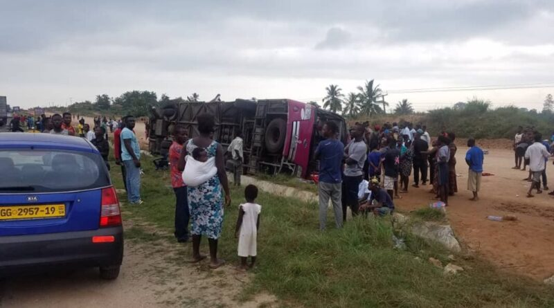 Breaking News: Six Killed In Fatal Accident At Suhum