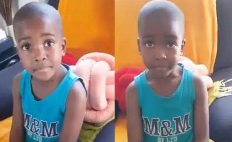 Little Boy Tells His Mum How He Got Broken Heart by A Girl He Loves and Internet Set Ablaze
