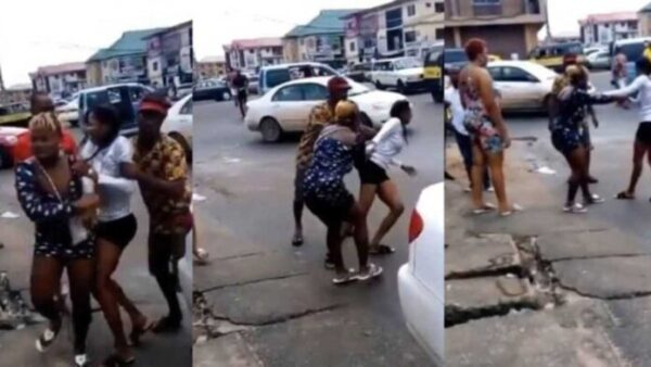 Slay Queen Runs Mad After Alighting From A Guy's Mercedes Benz Car