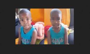 Little Boy Tells His Mum How He Got Broken Heart by A Girl He Loves and Internet Set Ablaze -WATCH VIDEO