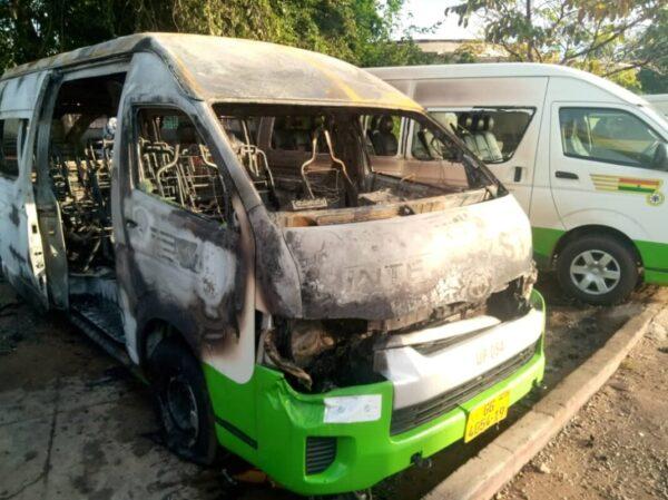 Volta Secessionists Beat STC Drivers, Burn Bus