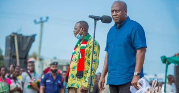 Akufo-Addo Has Nothing To Show For Borrowing GHS140 Billion In 4years – Mahama