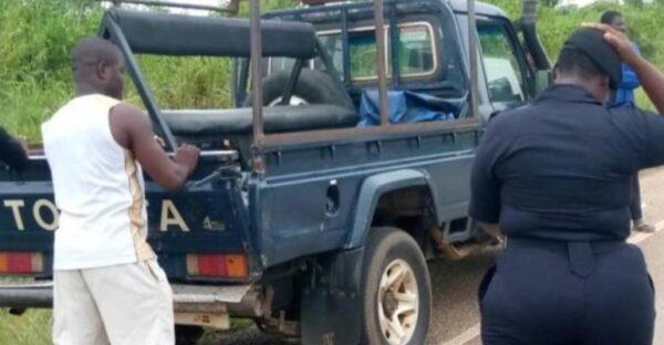 Two Okada Riders Crushed To Death On AsukawKaw-Dambai Highway