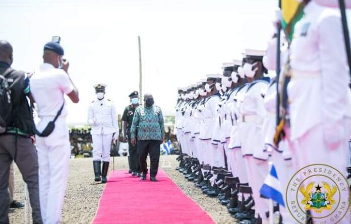 Akufo-Addo Dresses In Mahama's Cloth to Commission NDC's Projects