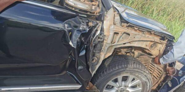 NPP's Sammy Awuku Involved In Car Crash On Ejisu-Konongo Road