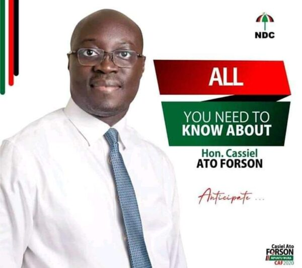 I Will Lead You To Victory - Ato Forson Assures NDC Supporters