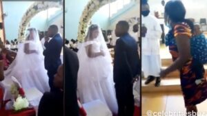 Wife Storms In Catholic Church to See Her Husband Marrying Another Woman and What Happened Melts Heart