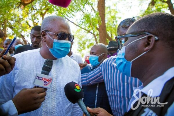 #ElectionBillboard: #2020polls: Mahama Preaches Change, Equality