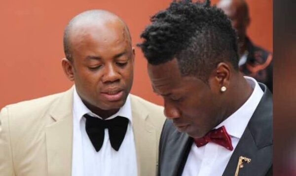 Asamoah Gyan And His Manager In Big Trouble