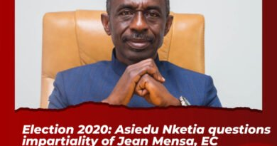 #ElectionBillboard: #2020Polls: Asiedu Nketia Questions Impartiality Of Jean Mensa, EC