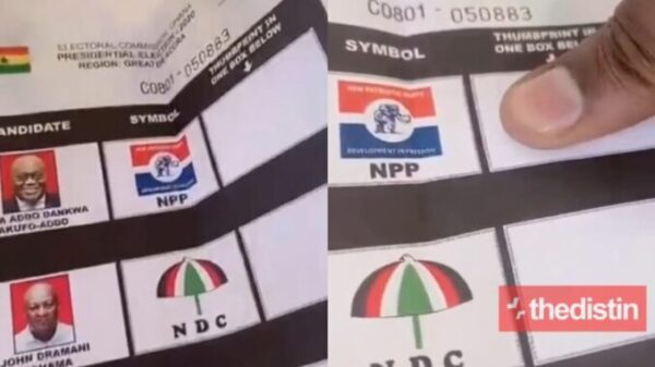 Video of Military Man Records Himself Voting Against Big Presidential Aspirant Goes Viral - WATCH VIDEO]