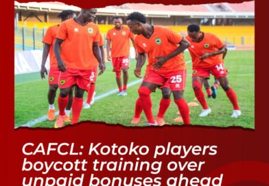 CAFCL: Kotoko Players Boycott Training Over Unpaid Bonuses Ahead of Al Hilal Clash
