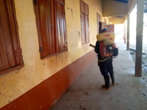 Basic And JHS Schools In The Upper East Region Undergo Disinfection Exercise