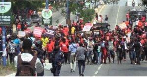NDC embarks on massive demonstration against EC in Sogakope [Video]