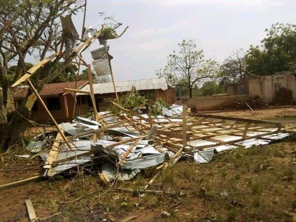Rainstorm Renders Over 100 People Homeless In Seikwa