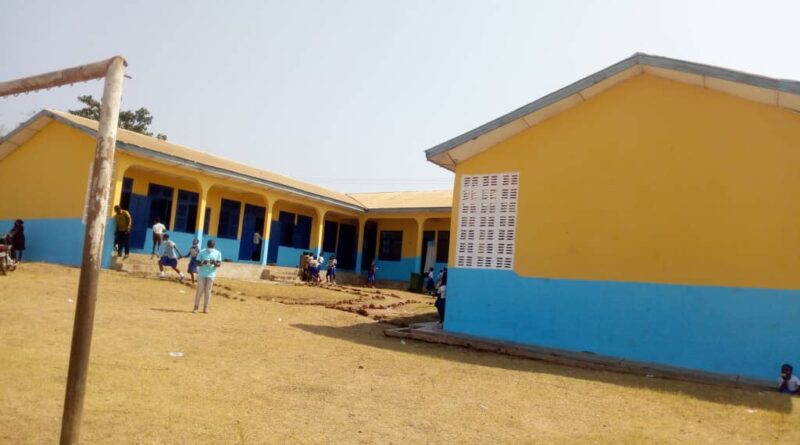 """Female Teacher Gives Facelift To SDA Basic""""A"""" School At Wenchi"""