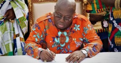 Akufo-Addo swears in 28 ministers, urges them to deliver