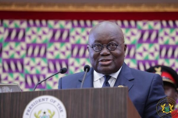 President Akufo-Addo's State of The Nation Address changed from 8 am to 1 pm