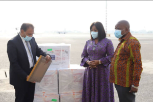 Ghana Receives 50,000 Covid-19 Vaccines Doses From India