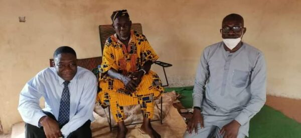 Vice-Chancellor of Tamale Technical University Pays Courtesy Call On Chiefs