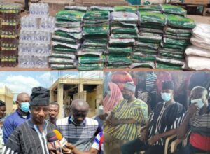 Amasaman Mp Makes Donation to Muslims to Mark Ramadan Celebration