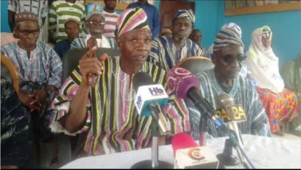Chiefs and People of Babatokuma Charge on Government for District Capital