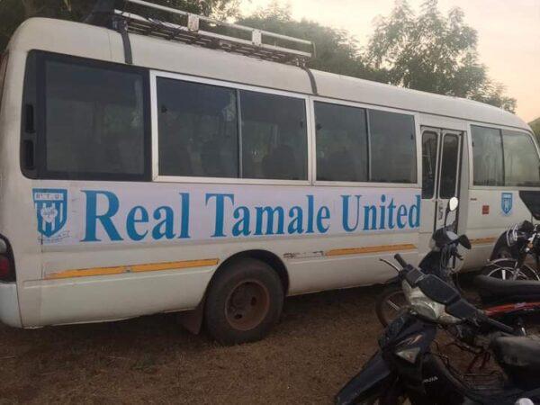 Dr. Mahamudu Bawumia Supports RTU Football Club scaled