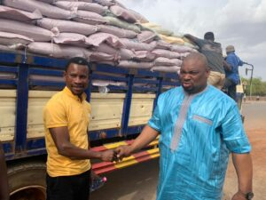 Farouk Aliu Mahama Donates 1000 Bags of Sugar to Muslim Community in Yendi