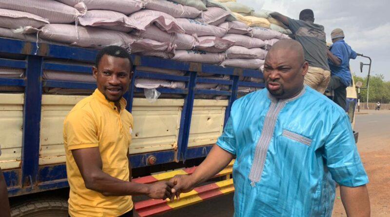 Farouk Aliu Mahama Donates 1000 Bags of Sugar to Muslim Community in Yendi