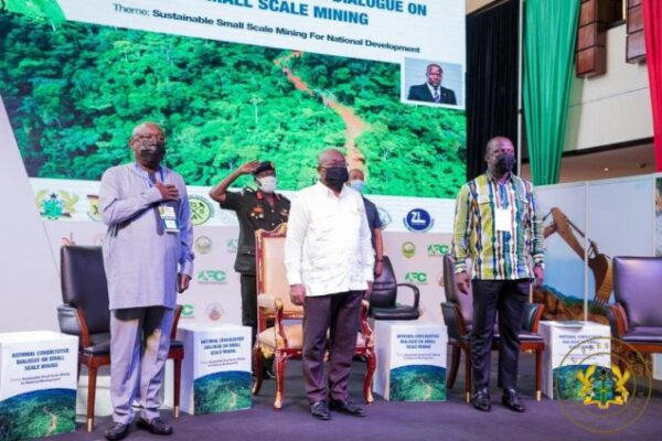 Go Beyond Partisan Politics When Discussing Illegal Mining – Akufo-addo