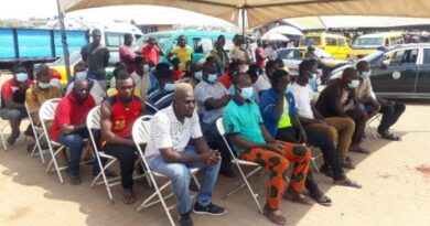 Sunyani MTTD, DVLA And NRSA Step Sensitisation Of Road Users