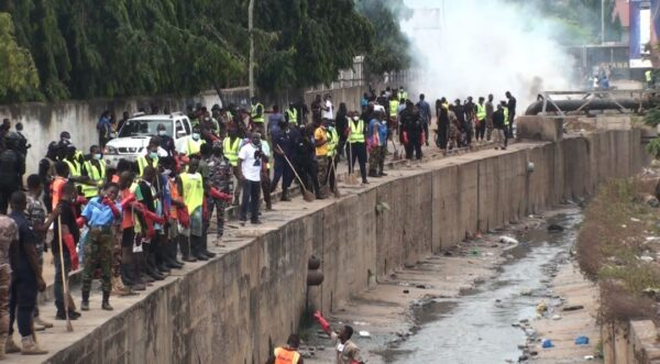 Massive Clean-up Exercise in Accra and Its Environs