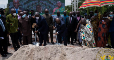 Akufo-addo Cuts Sod for 20 Residential Facilities for Appeal Court Judges in Kumasi