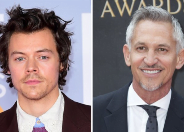 Harry Styles and Gary Lineker Among Those Nominated at British LGBT Awards